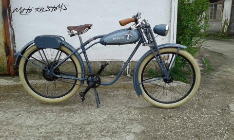Vintage Electric BikeRex - Реставрация