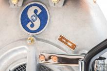 Vintage decor old Sachs engine