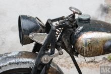 NSU OSL 251 for restoration by Moto Kustoms