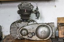 NSU OSL 251 engine for restoration by Moto Kustoms