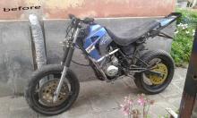 honda cg 125 modified