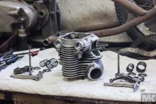 NSU OSL 251 engine restoration Moto Kustoms