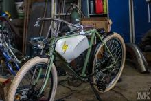 e-bike handmade Moto Kustoms