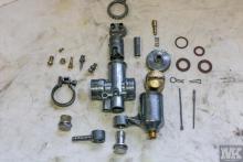NSU OSL 251 carburretor restoration Moto Kustoms