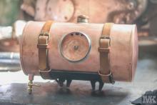 Vintage decor/art decor Cooper motorcycle tank