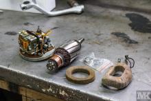 NSU OSL 251 Dynamo restoration Moto Kustoms