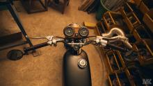 Honda Cb50 motogadget CafeRacer MotoKustoms