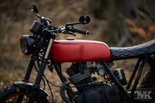Suzuki scrambler by Moto Kustoms