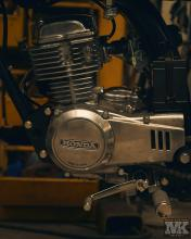 Honda Cb50 engine CafeRacer MotoKustoms