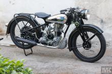 NSU OSL 251 restoration Moto Kustoms