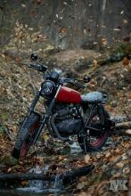 Suzuki scrambler by Moto Kustoms