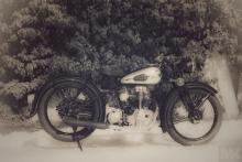 NSU OSL 251 restoration by Moto Kustoms